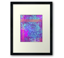 Frosted Tree Framed Print