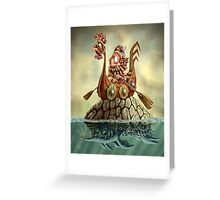 The Tale of Firgin the Fearful Greeting Card