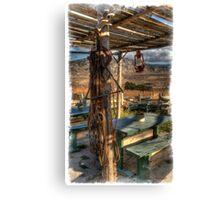 Lone Tack Post Canvas Print
