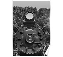 Train Headon Poster