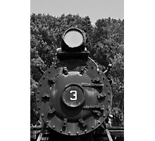 Train Headon Photographic Print