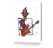 da Blues  Greeting Card