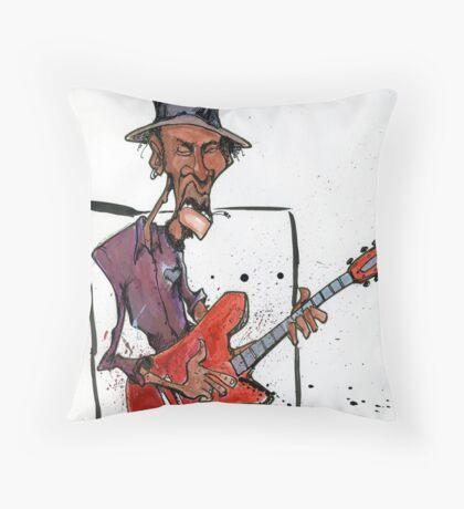 da Blues  Throw Pillow