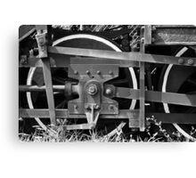 Train Wheel 2 Canvas Print