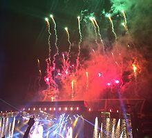 WWA Philly 8/13 Fireworks by Emlyn  Orr