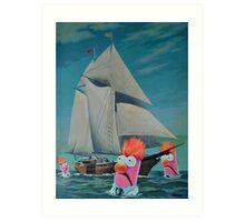 Beaker Bay Art Print