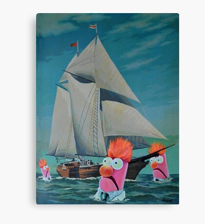 Beaker Bay Canvas Print