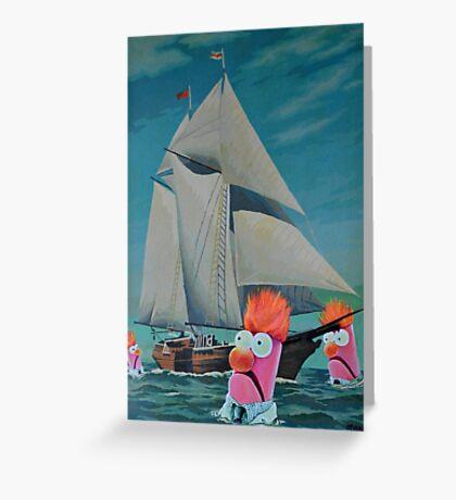 Beaker Bay Greeting Card
