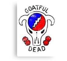 Goatful Dead Canvas Print
