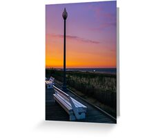 Evening at Rehoboth Beach Greeting Card