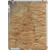 old dirty canvas iPad Case/Skin
