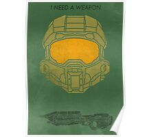 I need a weapon. Poster
