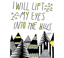 Into the Hills Photographic Print
