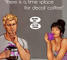 time and place for decaf by snows