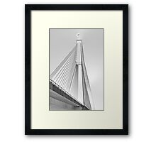ANZAC Bridge - Glebe NSW Framed Print