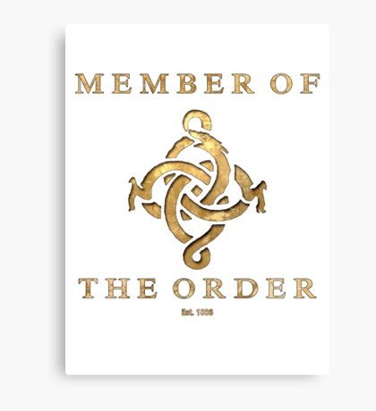 The Order 1886 Canvas Print