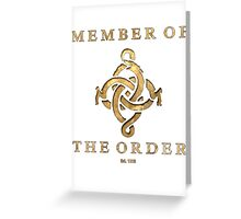 The Order 1886 Greeting Card