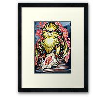 Fireborn Guardian Framed Print