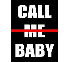 EXO chen Call me baby Photographic Print