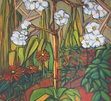 In a Corner of the Garden by Kargin