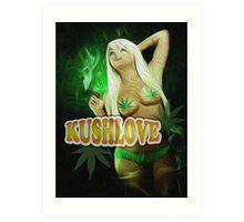 KushLove Art Print