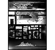 [Broken] Monochrome Impact Photographic Print