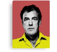 Top Gear Inspired Pop Art, Jeremy Clarkson Canvas Print