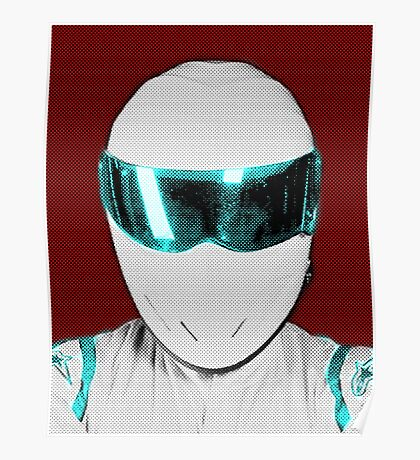 Top Gear Inspired Pop Art The Stig Poster