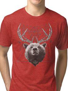 Deer Bear Tri-blend T-Shirt