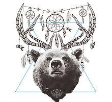 Deer Bear by aibekmt