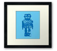 Clockwork Blue Framed Print