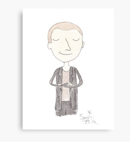 Doctor Who - Ninth Doctor Canvas Print