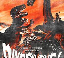 Dinosaurus poster by Vintage Designs