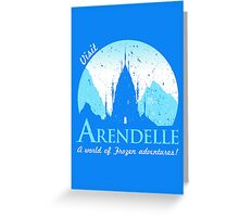 Visit Arendelle Greeting Card