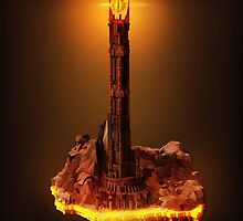 Lord of the Rings - Barad-Dur by Neil Stratford