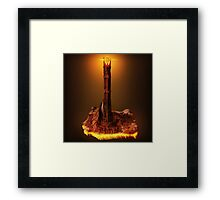 Lord of the Rings - Barad-Dur Framed Print