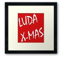 Luda X-Mas, 30 Rock. Framed Print
