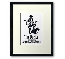 Put a Little Doctor in You Framed Print