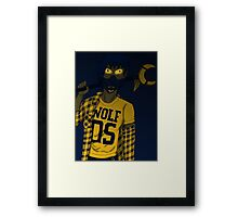 Wolf 05 Framed Print
