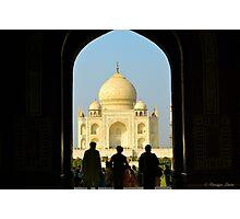 The Majestic Taj Mahal Photographic Print