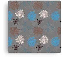 Earthy FlowerZ Canvas Print
