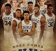 Duke basketball by evaav