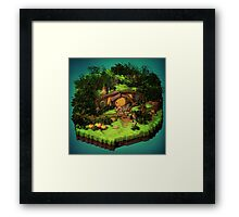 Lord of the Rings - The Hobbit - Shire Framed Print