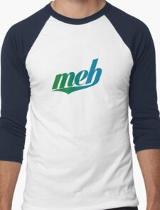 meh - Swoosh style - Green/blue T-Shirt