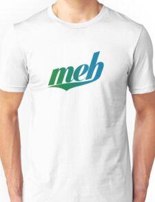 meh - Swoosh style - Green/blue Unisex T-Shirt