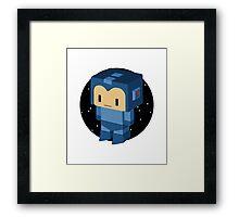 Megaman Doll Framed Print