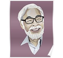 Hayao Miyazaki Poster