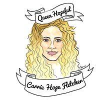 Queen Hopeful Photographic Print