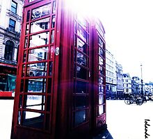 london in love telephone by lovenaturenow