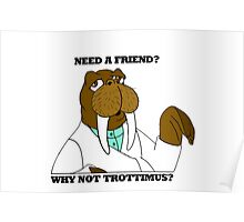NEED A FRIEND? WHY NOT TROTTIMUS? Poster